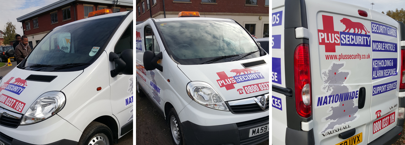 Plus Security - Our Vans